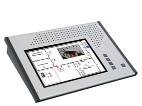 NeuroKom Modul-Tischsprechstelle mit 10.1'' Multi-Touch-Display inkl. IMS 9000 Managementsoftware DS 9500-WI: Gehrke